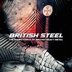 VARIOUS – British Steel – The Rising Force Of Heavy Metal