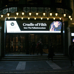 CRADLE OF FILTH, London Palladium, 19 October 2019