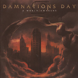 DAMNATIONS DAY – A World Awakens (Sensory/The Lasers Edge)