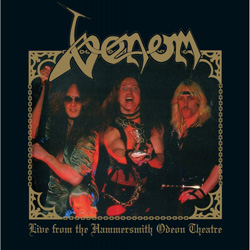 VENOM – Live From The Hammersmith Odeon Theatre (High Roller Records)