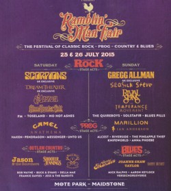 WEATHER SYSTEMS - Ramblin' Man Fair: Day Two